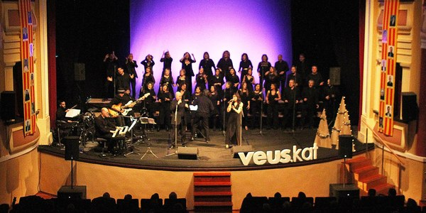 Concert de Veus.kat a Bellpuig
