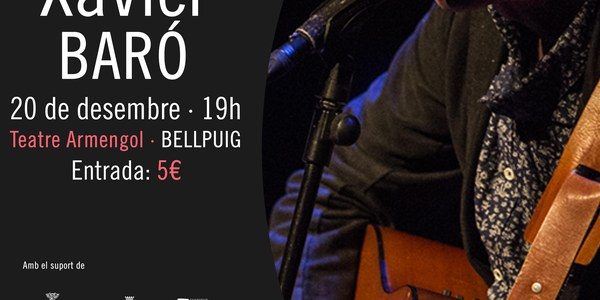 Concert de Xavier Baró a Bellpuig