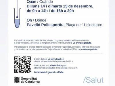 CRIBRATGE POBLACIONAL ÀREA BÀSICA DE BELLPUIG COVID-19