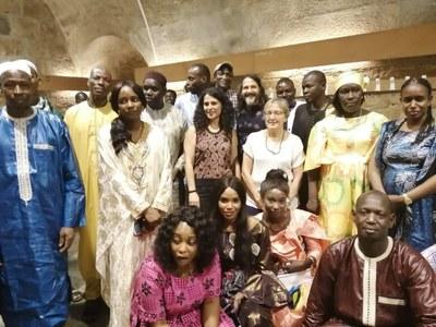 Dinar de l'Associació d'africans occidentals
