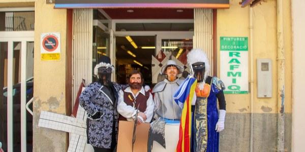 El Botiguestoltes dóna inici a  la Festa de Carnestoltes de Bellpuig