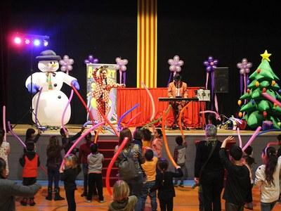 """El """"Parc de Nadal de Bellpuig"""" 2018-2019 tanca les portes  amb un espectacle d'animació infantil"""