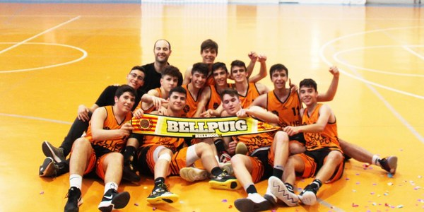 El Club Bàsquet Bellpuig acomiada la temporada 2018-2019 guanyant la final Junior masculí i fent un sopar de cloenda