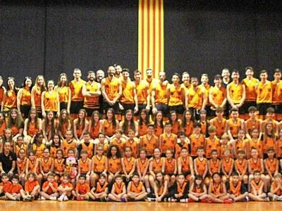 El Club Bàsquet Bellpuig presenta els equips de la temporada 2019-2020