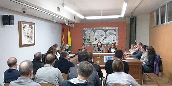 El ple de l'Ajuntament de Bellpuig aprova una moció de resposta a la sentència del Tribunal Suprem i per demanar l'amnistia per a les persones preses polítiques catalanes i en defensa del dret d'autodeterminació