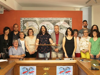 El Sr. Jordi Estiarte és elegit alcalde de Bellpuig, al ple de constitució del nou consistori
