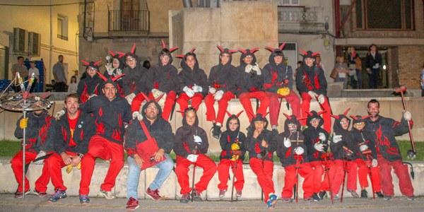 """Els """"Espurnetes Foc Foll"""" de Bellpuig celebren 10 anys"""