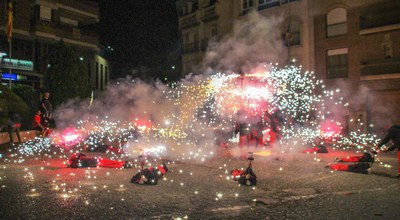 Festa 10 anys Espurnetes Foc Foll de Bellpuig Correfoc 2 .jpg