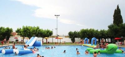 """Festa Aquàtica del """"Programa Nereu"""" a les piscines Municipals de Bellpuig"""