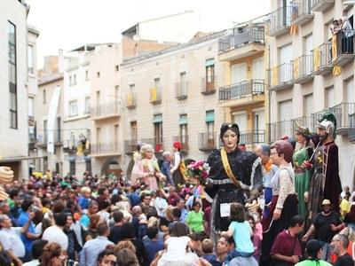 Festa Major de Bellpuig 2018 Actes dissabte 15 i diumenge 16 de setembre