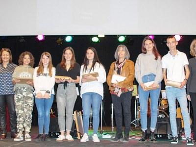 Guanyadors del  34è premi Valeri Serra i Boldú  de Cultura Popular  en les categories Infantil i Juvenil