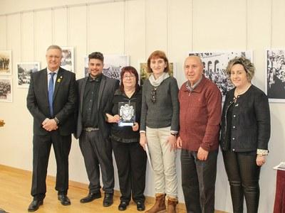 Homenatge a  l'Orfeó Joventut de Bellpuig a la Festivitat de Sant Antoni de la Sitja