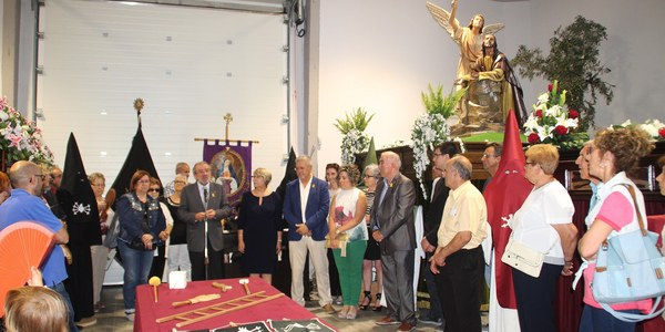 Inaguració de la sala d'exposicions de la Festivitat dels Dolors de la Mare de Déu a Bellpuig