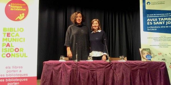 L'escriptora Najat El Hachmi, conversa sobre valors i emocions universals a Bellpuig,  dins la 5a edició del cicle Avui també és Sant Joan  de La Fundació Antigues Caixes Catalanes