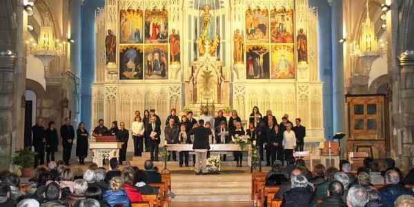L'Orfeó Joventut de Bellpuig inaugura el Cicle de concerts del seu centenari interpretant la Missa brevis en Fa major K. 192 de Mozart a l'Església de Sant Nicolau de Bellpuig