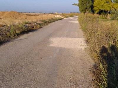 L'arranjament de camins finalitza amb el reg asfàltic