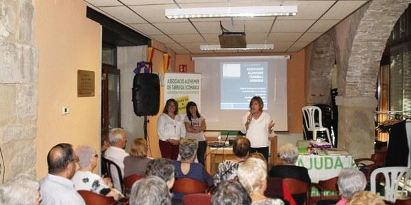 """L'Associació de Familiars de Malalts d'Alzheimer de Tàrrega i Comarca ofereix el taller """"La ment en forma"""" a Bellpuig"""