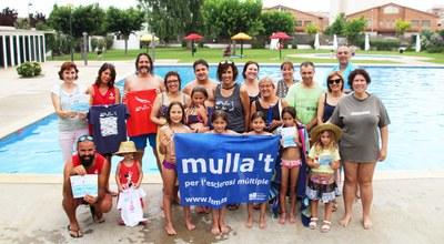 """Les Piscines municipals de Bellpuig participen en la campanya """"Mulla't per l'Esclerosi Múltiple"""""""