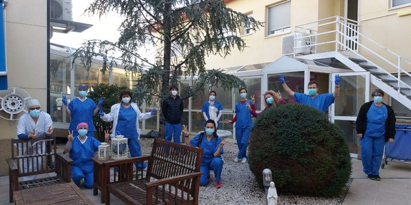 Les residències de Bellpuig reben la segona dosis de vacunes per la Covid-19