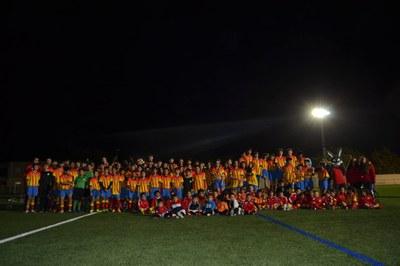 L'Escola de Futbol de Bellpuig presenta els seus equips i jugadors
