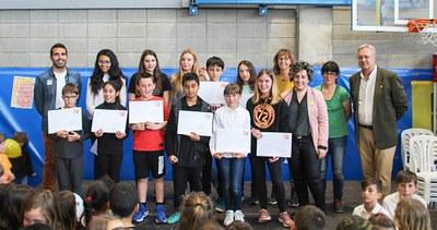 Lliurament de premis del Concurs Infantil i Juvenil de Prosa i Pintura dins els actes de la diada de Sant Jordi  a Bellpuig