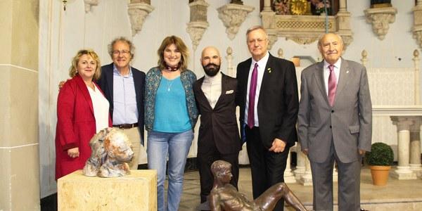 """Lliurament dels premis de la catorzena edició  del  """"Premi Internacional de Belles Arts  Sant Jordi dels Països Catalans"""""""