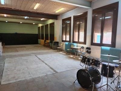 Obres a l'Escola Municipal de Música