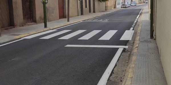 Obres de manteniment del carrer La Font
