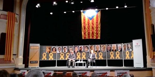 Presentació del llibre de Vicent Partal,  Nou homenatge a Catalunya  a Bellpuig