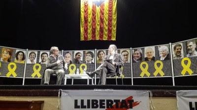 Presentació llibre Nou homenatge a Catalunya Vicent Partal a Bellpuig 1.jpg