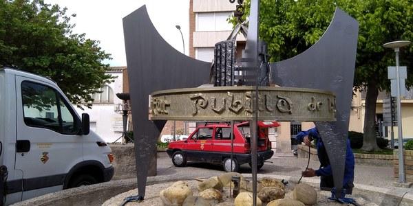 Restauració del monument Ciutat Pubilla de la Sardana