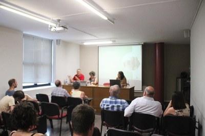 Sessió informatica sobre la Situació econòmica de l'Ajuntament a Bellpuig