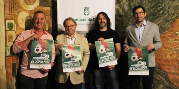 """Tot a punt a Bellpuig per acollir el  """"24è Torneig internacional de futbol base Vila de Bellpuig"""""""