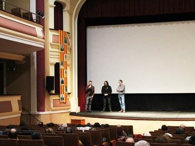 """Xavi Font, productor de la pel·lícula """"O que arde"""" participa en un cinefòrum a Bellpuig"""